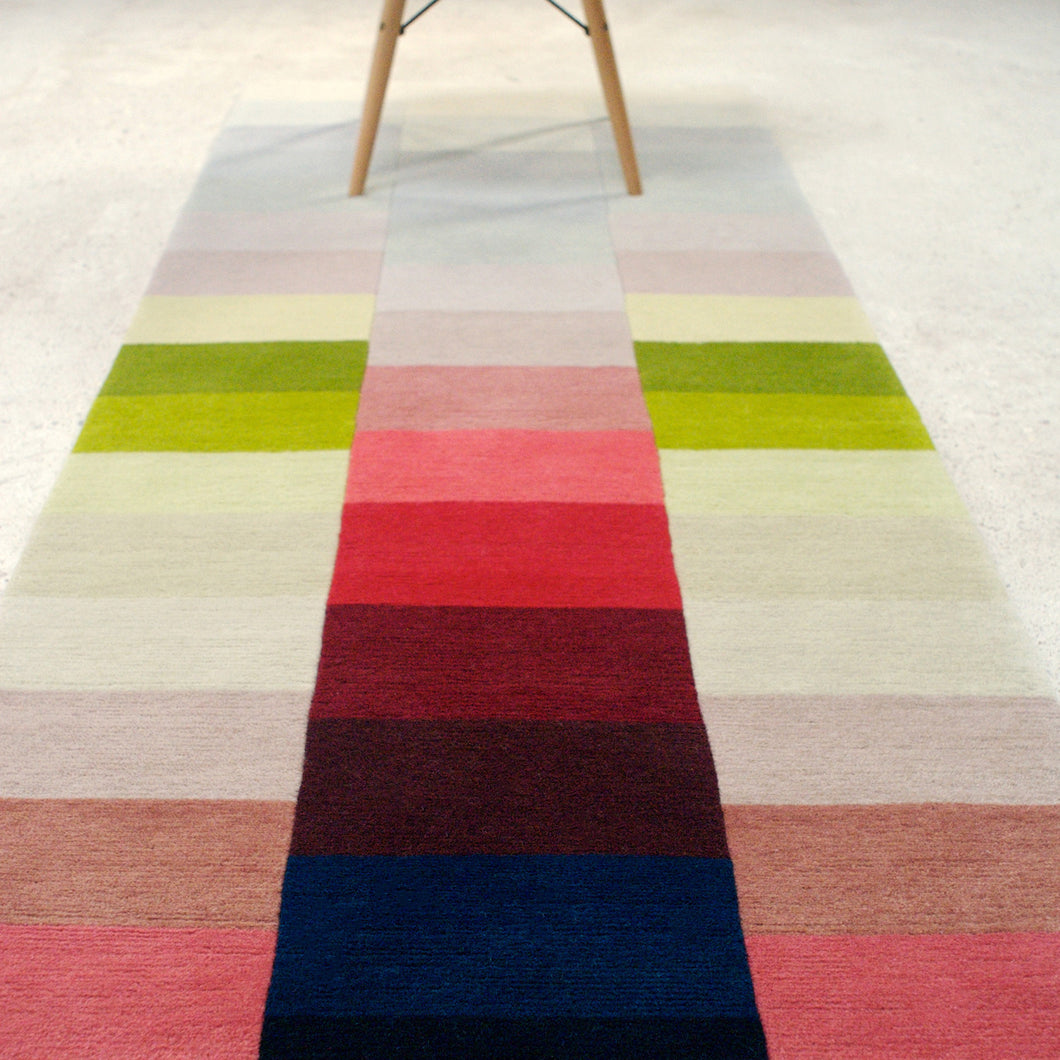 Itten – Hand Knotted runner in Pile or Flatweave