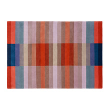 Bauhaus Red – Hand Knotted Pile Rug