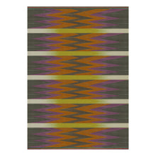 Zigzag Orange – Flatweave Rug