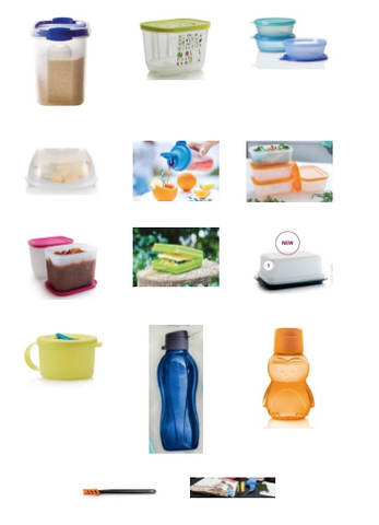 Tupperware Demonstrator Starter Kit - Tupperware Queen Shop UK