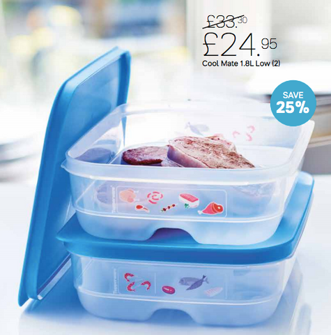 Tupperware Cool Mates 1.8L Set of 2