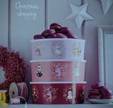 Tupperware Christmas Joy Baseline Canisters