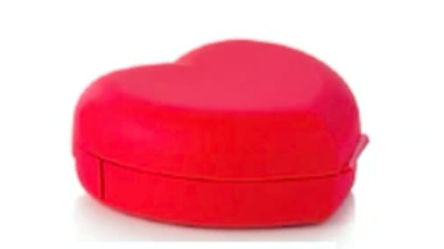 Tupperware Heart