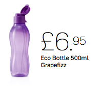 Tupperware 500ml Bottle Grape Fizz - Tupperware Queen Shop UK