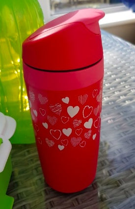 Tupperware - Tupperware Commuter Mug Heart Design