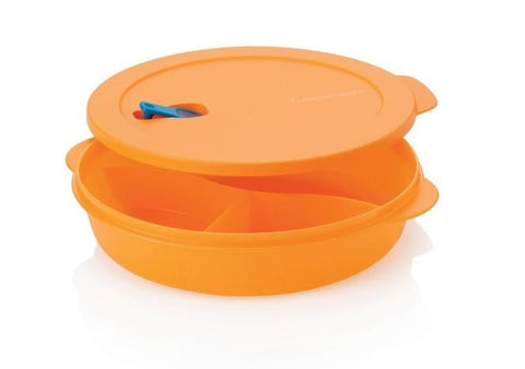 Tupperware CrystalWave Divided Dish - Tupperware Queen Shop UK