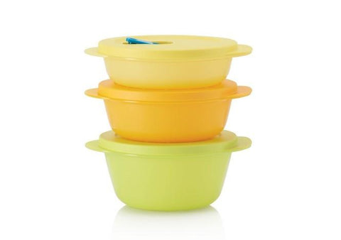 Tupperware CrystalWave Round Set - Tupperware Queen Shop UK