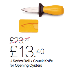 Tupperware Deli Knife & Cover - Tupperware Queen Shop UK