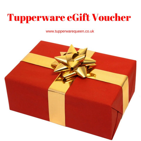 Tupperware eGift Voucher - Tupperware Queen Shop UK