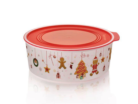 Tupperware - Tupperware Gingerbread Cookie Canister