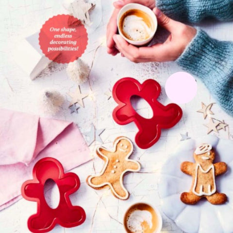 Tupperware - Tupperware Gingerbread Man Cookie Cutter
