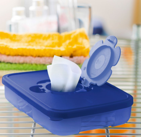 Tupperware - Tupperware Low Wipes Box