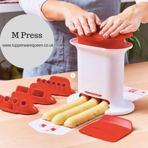 Tupperware M Press - Tupperware Queen Shop UK
