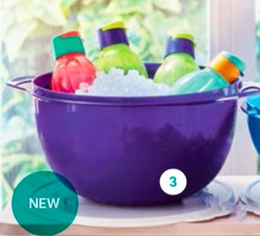 Tupperware - Tupperware Mega Bowl 10L