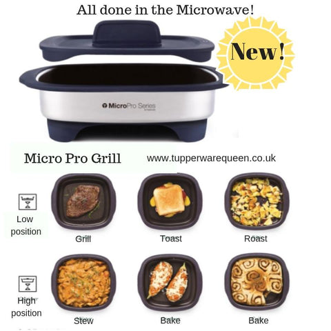 Tupperware Micro Pro Grill - Tupperware Queen Shop UK