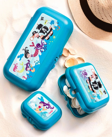 Tupperware - Tupperware Oyster Trio Set Mermaids And Pirates