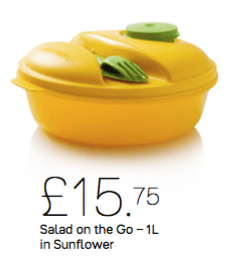 Tupperware Salad on the go 1L - Tupperware Queen Shop UK