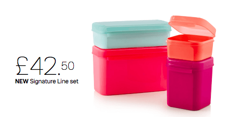 Tupperware - Tupperware Signature Line Set