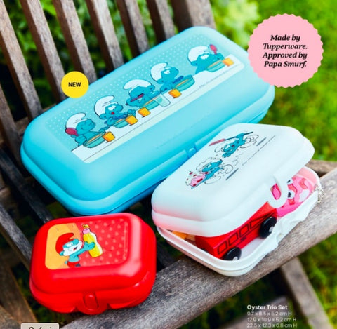Tupperware Smurf Oyster Set - Tupperware Queen Shop UK