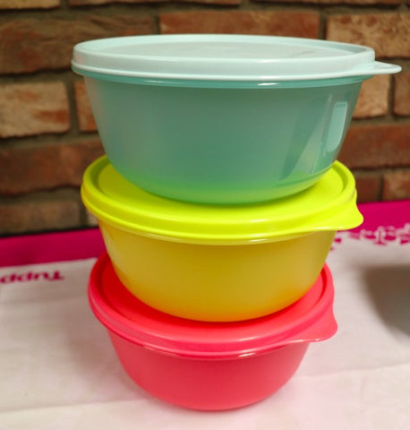 Tupperware - Tupperware Space Saver Bowls Limited Edition