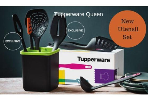 Tupperware Utensil Set - Tupperware Queen Shop UK