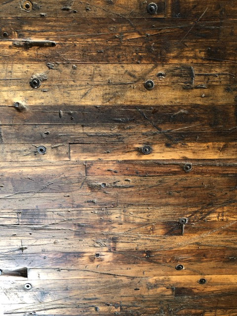 Reclaimed Oak or Maple Butcher Block Boards, 1 foot wide