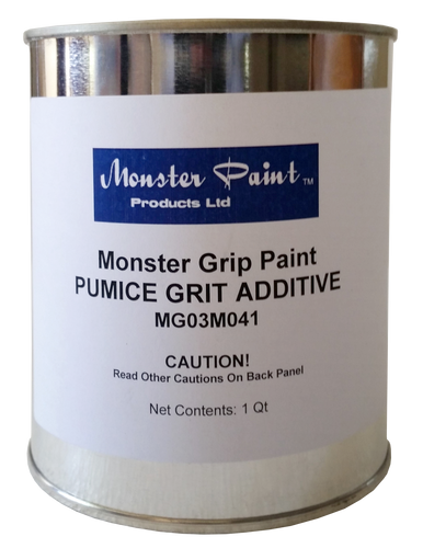 Anti-Skid Paint Additive - Pumice Grit * Made in USA - Quart Qty. 1