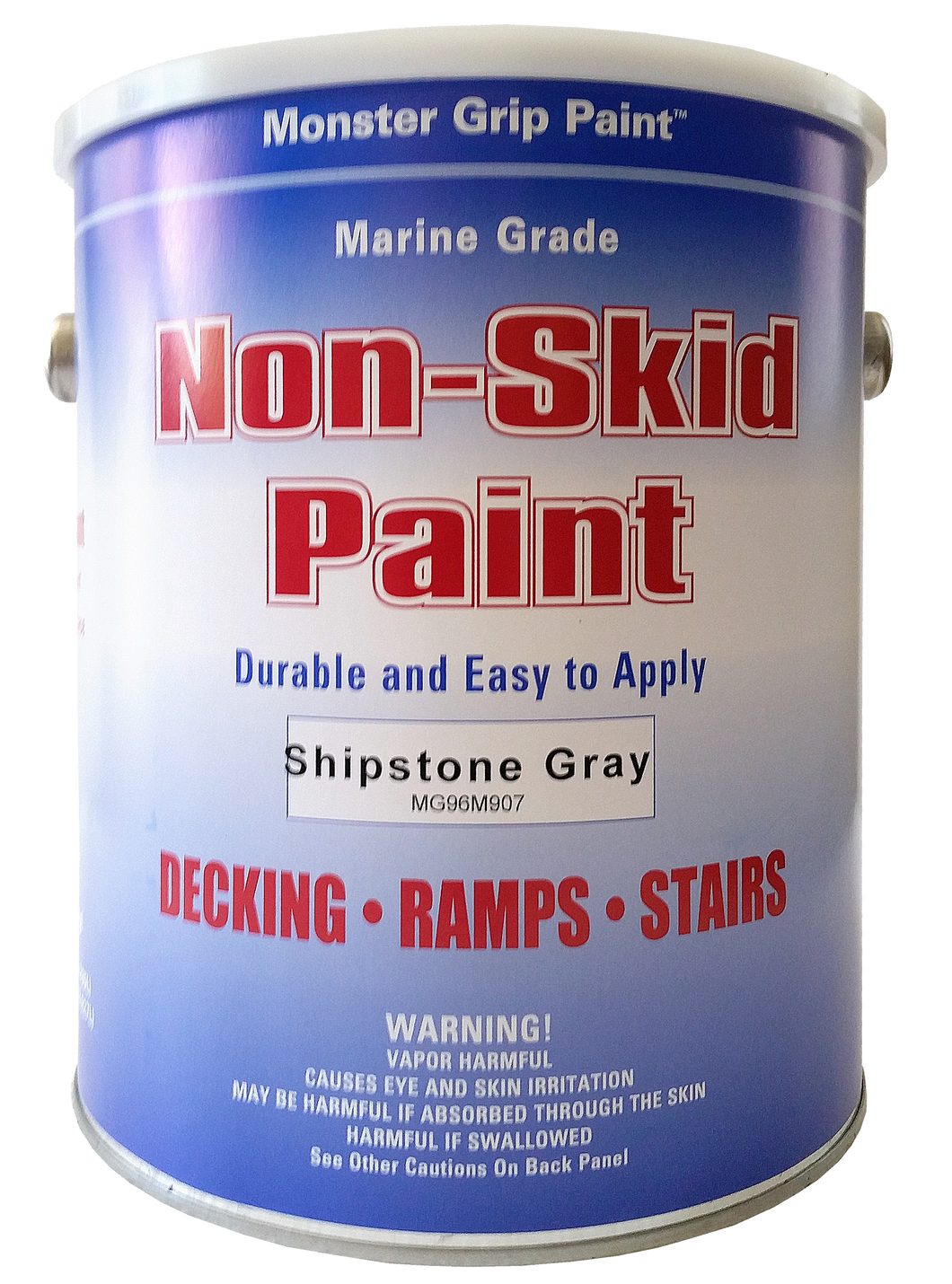 Non Skid Paint Marine Epoxy with Grit * Made in USA - 5 Gallon Pail, Qty. 3