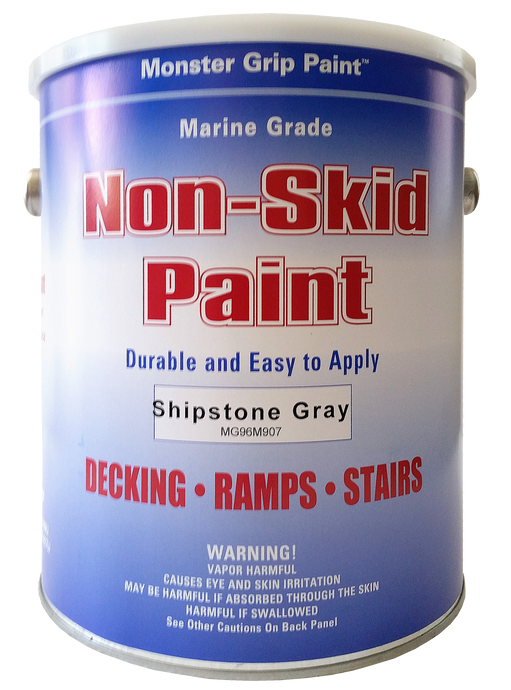 Non Skid Paint Marine Epoxy with Grit * Made in USA - Gallon, Qty. 2