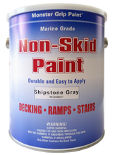 Non Skid Paint Marine Epoxy with Grit * Made in USA - Gallon, Qty. 4