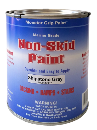 Non Skid Paint Marine Epoxy * Made in USA - Quart Qty. 4