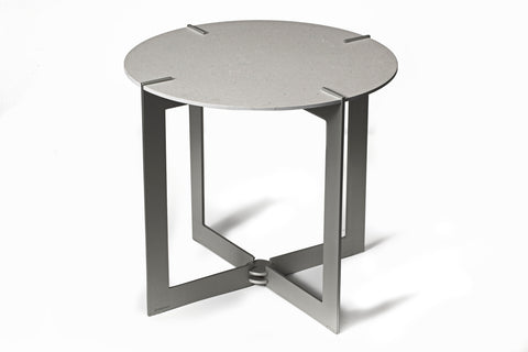 Caesarstone® Side Table - Raw Concrete 4004
