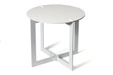 Caesarstone® Side Table - Frosty Carrina 5141