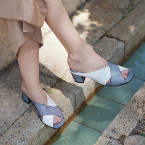 Marion - Cross Strap Mules