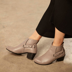 Robin - Chunky Heel Ankle Boots