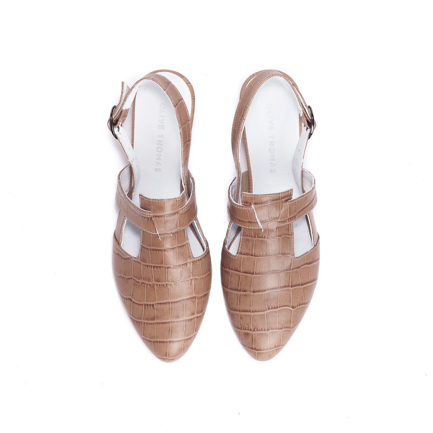 Francis - Closed Toe Slingbacks