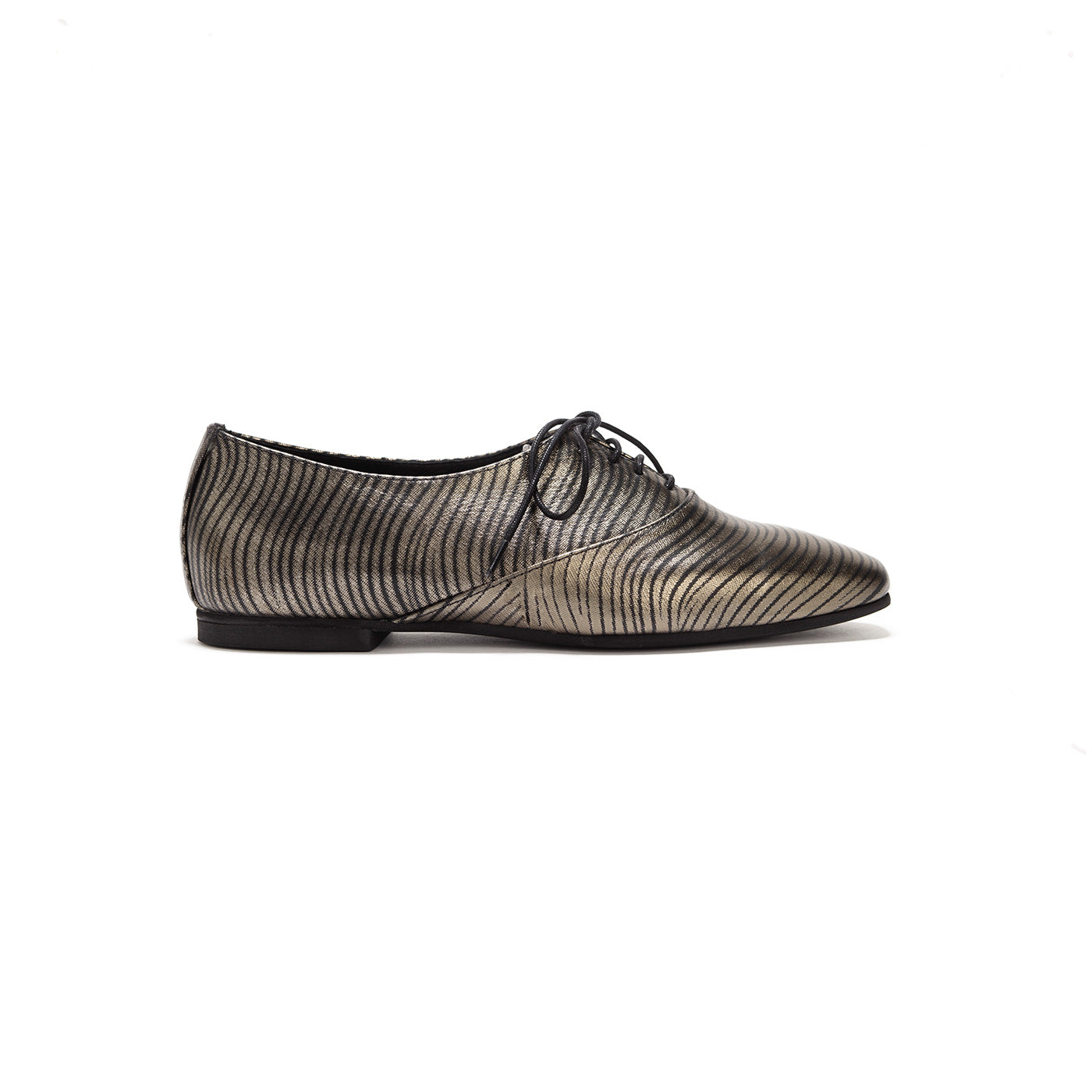 Frankie - Gold Waves Oxfords