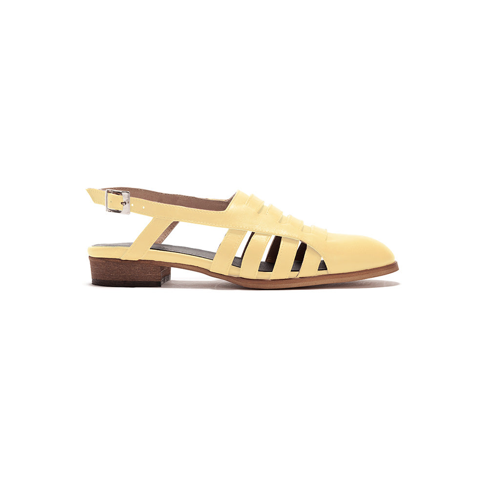 Helena - Woven Strap Sandals