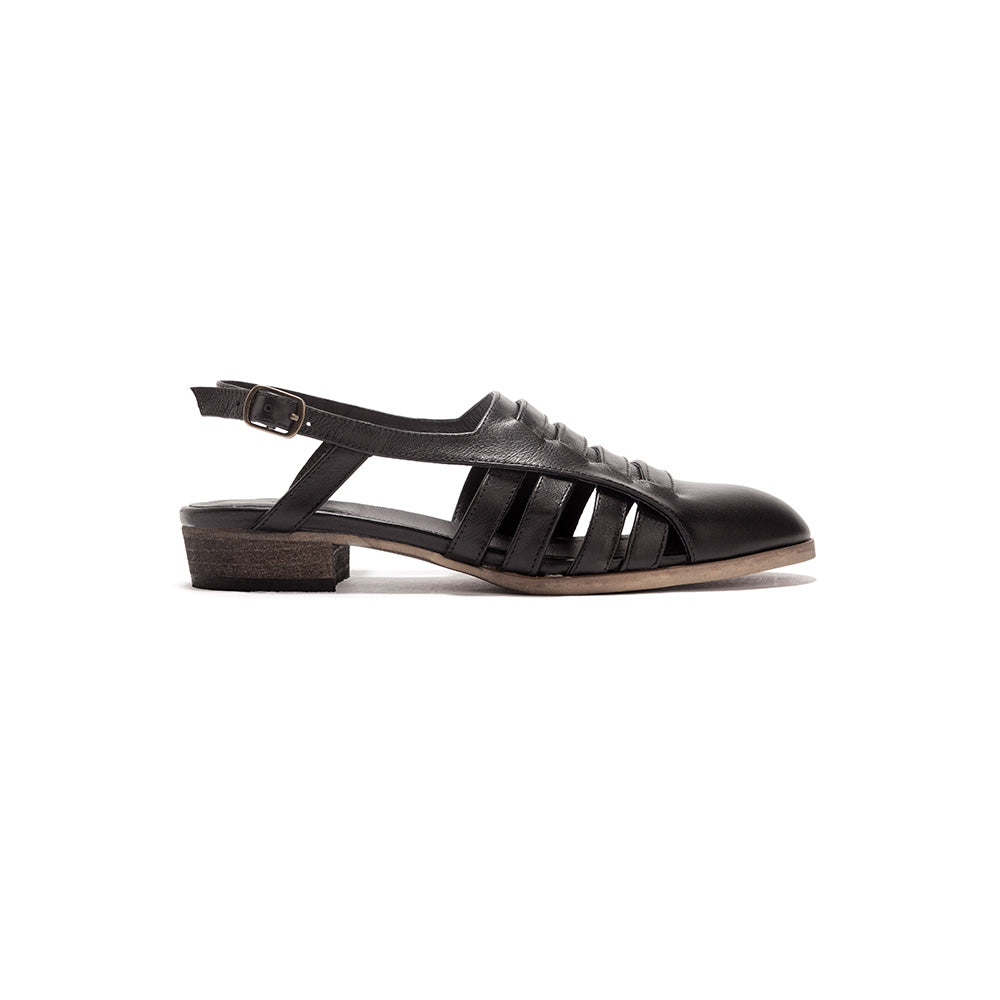 Helena - Woven Leather Sandals