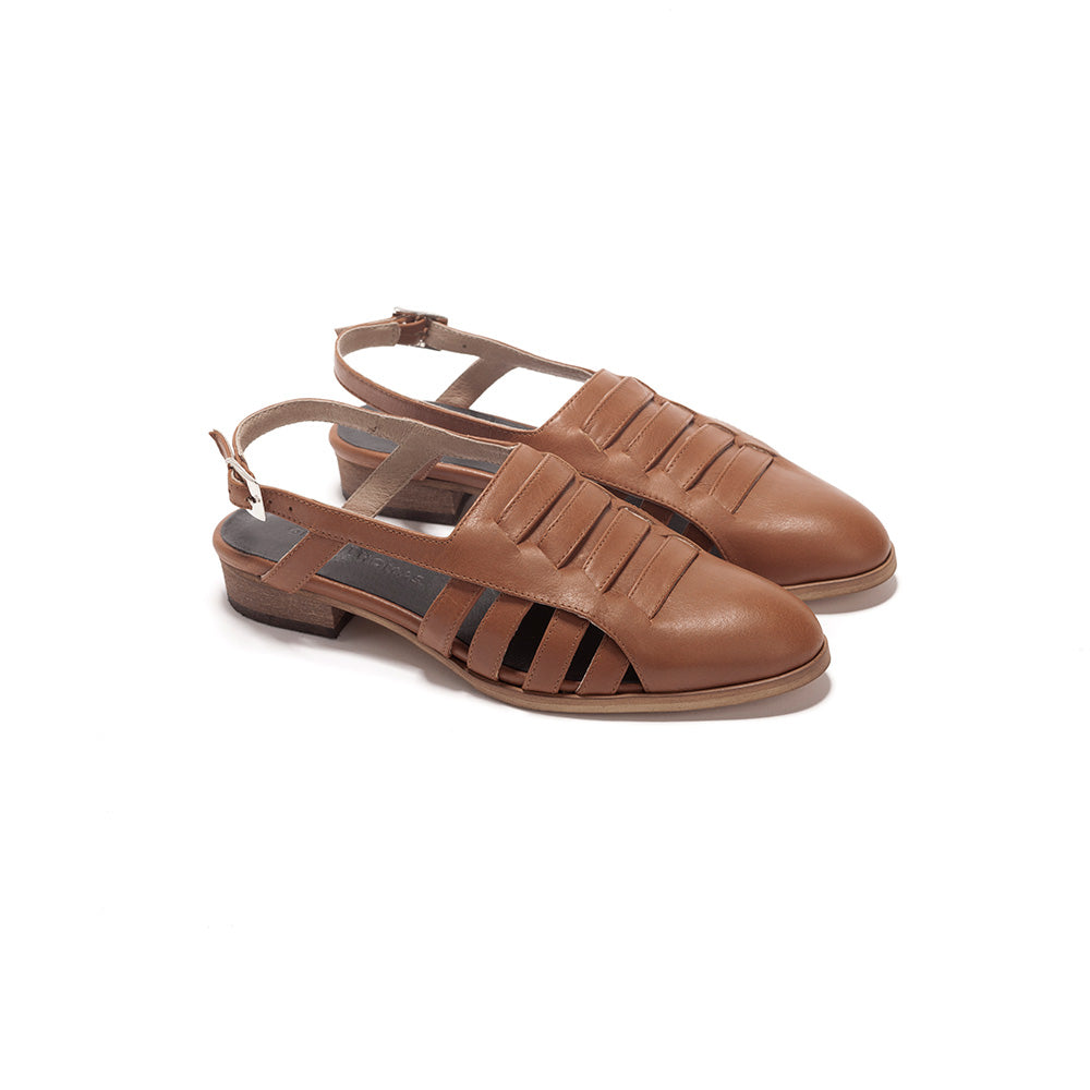 Helena - Leather Summer Sandals
