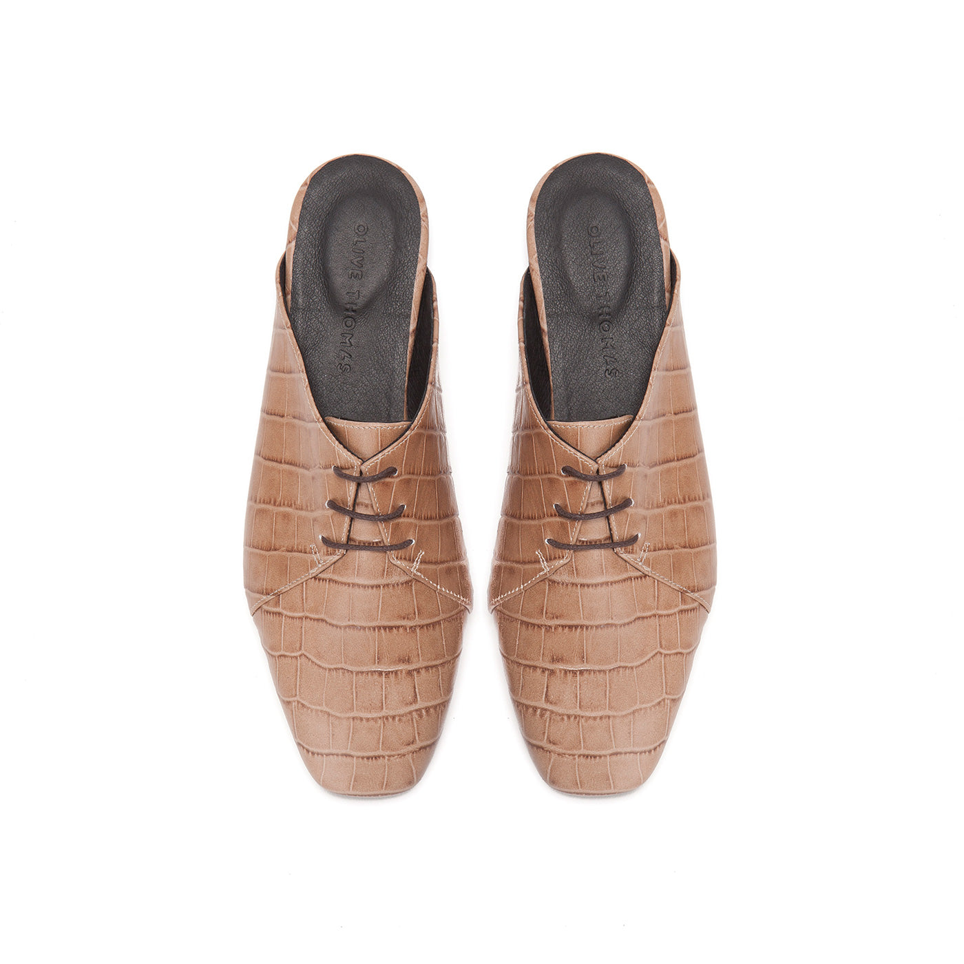 Joan - Slip On Lace Ups