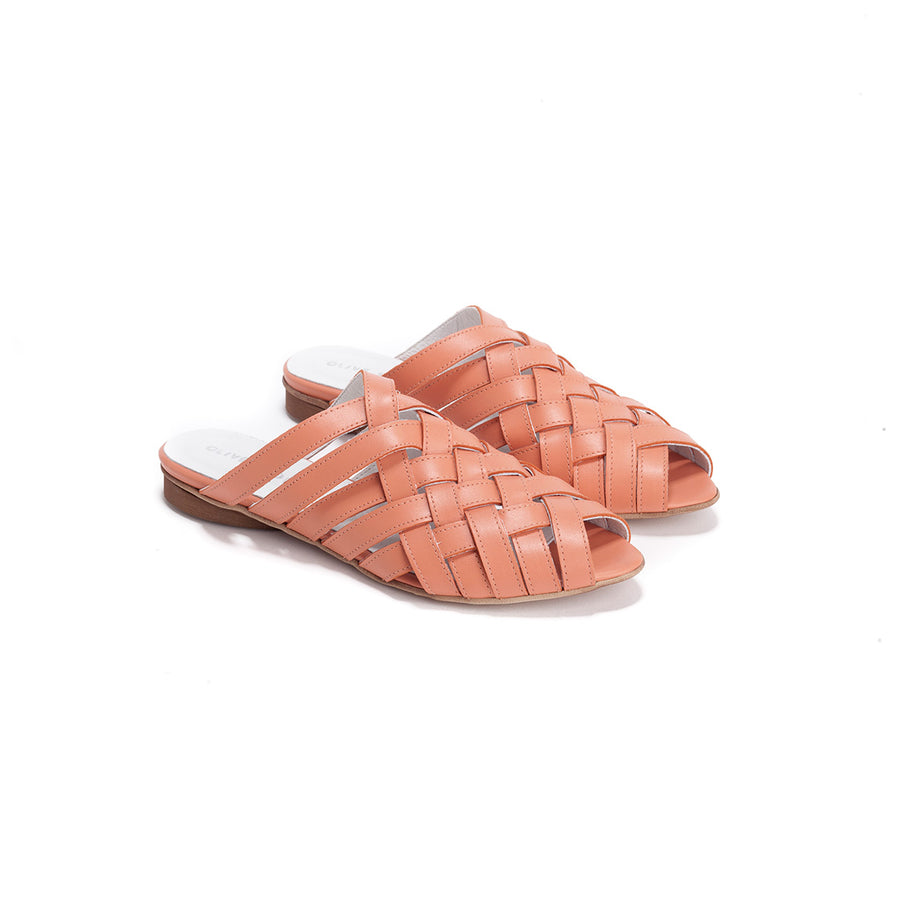Laurie - Woven Flats