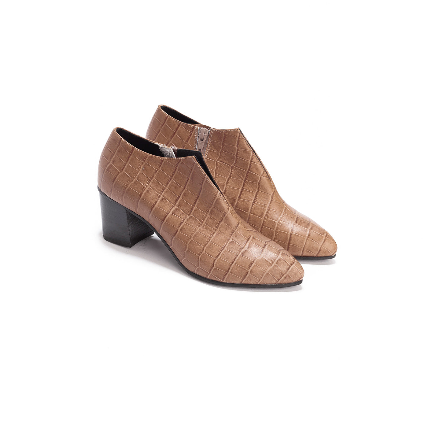 Reese - Block Heel Ankle Boots