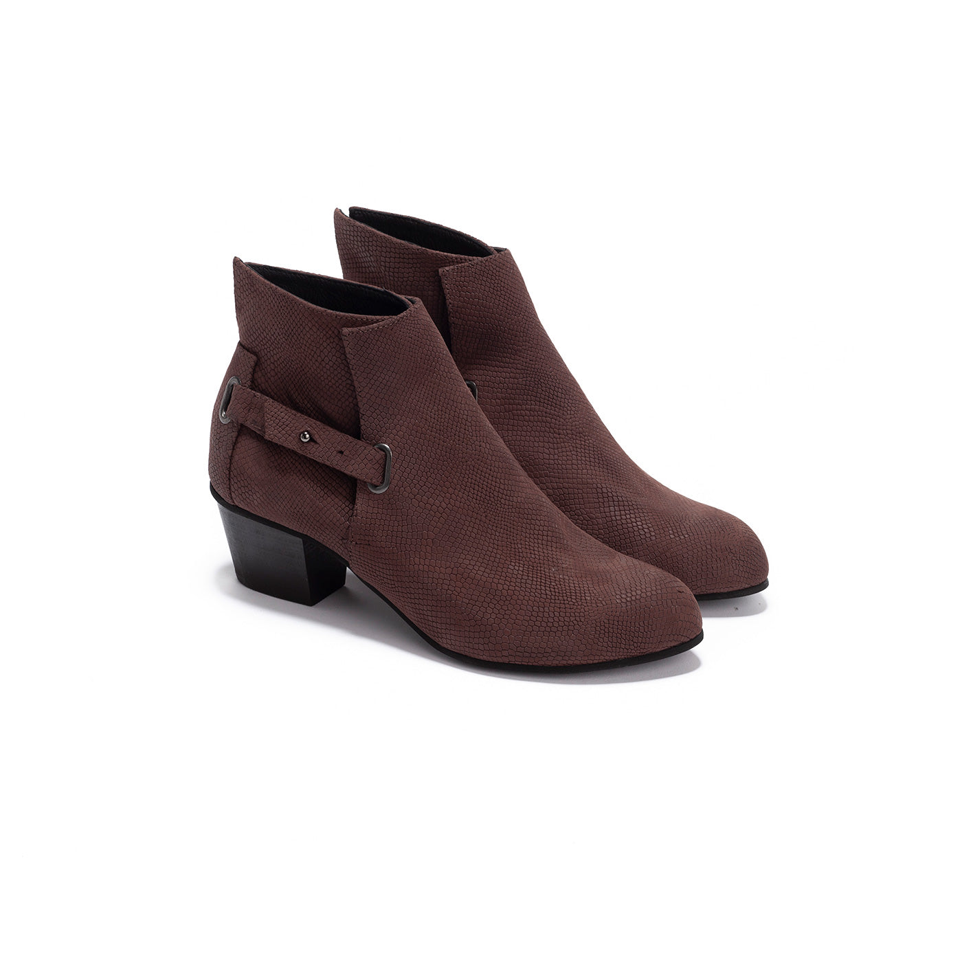Robin - Brown Leather Boots