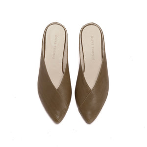 Willow - Soft Leather Slip On's