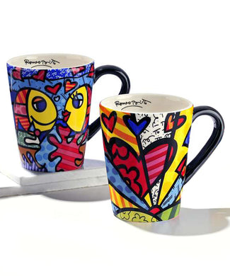 Romero Britto Mug - RSVP Beauty Clinic