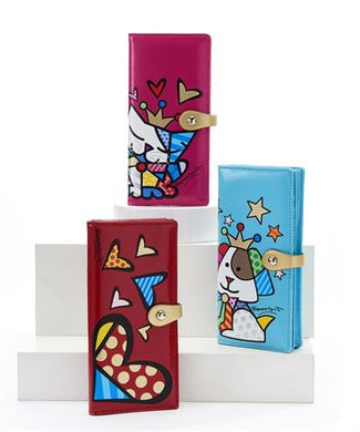 Romero Britto PU Large Wallet - RSVP Beauty Clinic