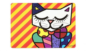 Romero Britto Placemat - RSVP Beauty Clinic