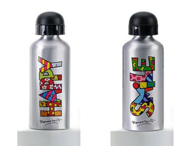 Romero Britto Aluminum Water Bottle - RSVP Beauty Clinic