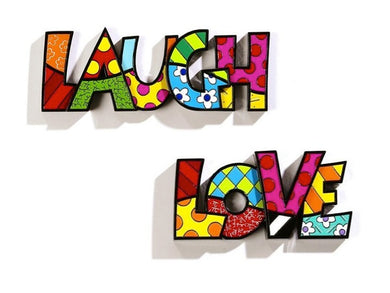 Romero Britto Word Decor - RSVP Beauty Clinic